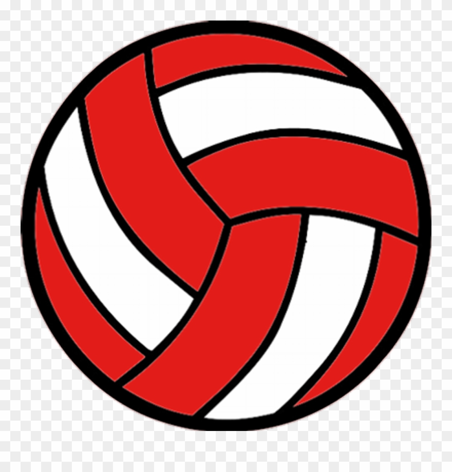 Red volleyball clipart clip library library Lacrosse- \