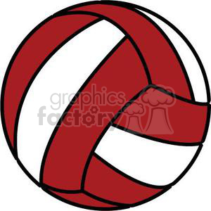 Red volleyball clipart image transparent red volleyball clipart. Royalty-free clipart # 381188 image transparent