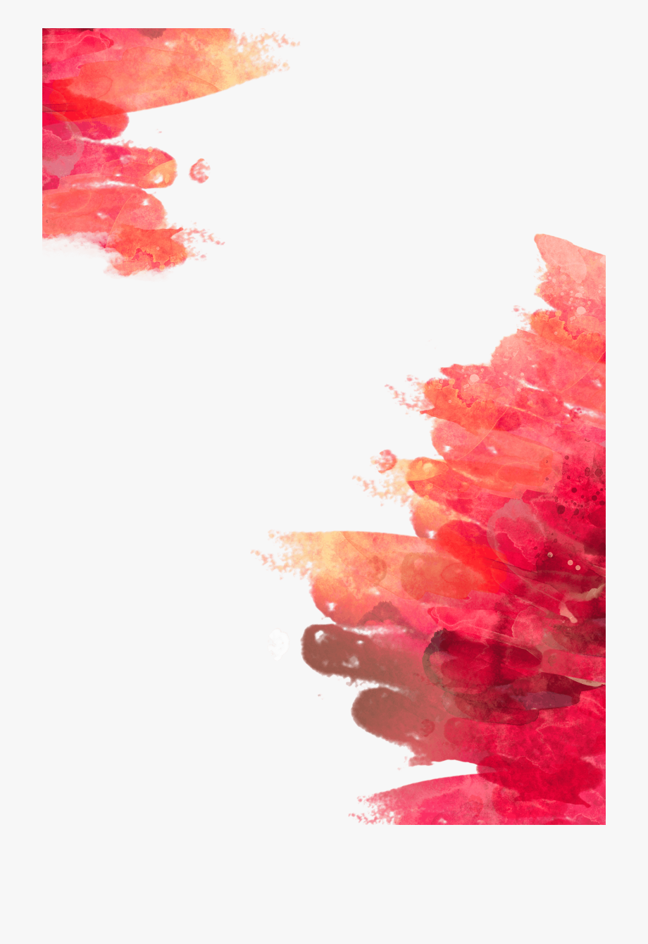 Red watercolor splash long vector clipart free clip freeuse library Watercolor Splash Png Clipart - Red Watercolor Background ... clip freeuse library