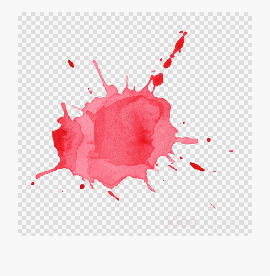 Red watercolor splash long vector clipart free clip royalty free Download Watercolor Splash Png Clipart Watercolor Painting ... clip royalty free