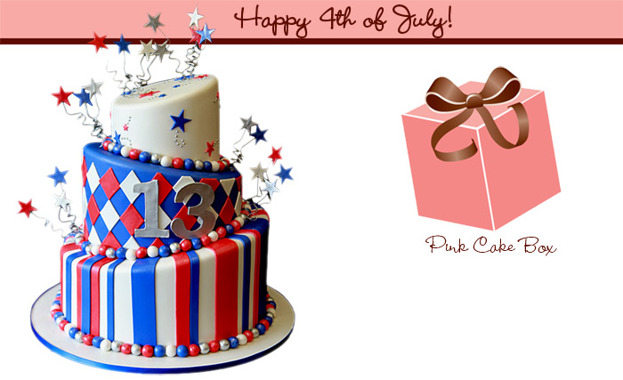 Red white and blue birthday cake clipart picture royalty free library Birthday cake clip art patriotic - 15 clip arts for free ... picture royalty free library
