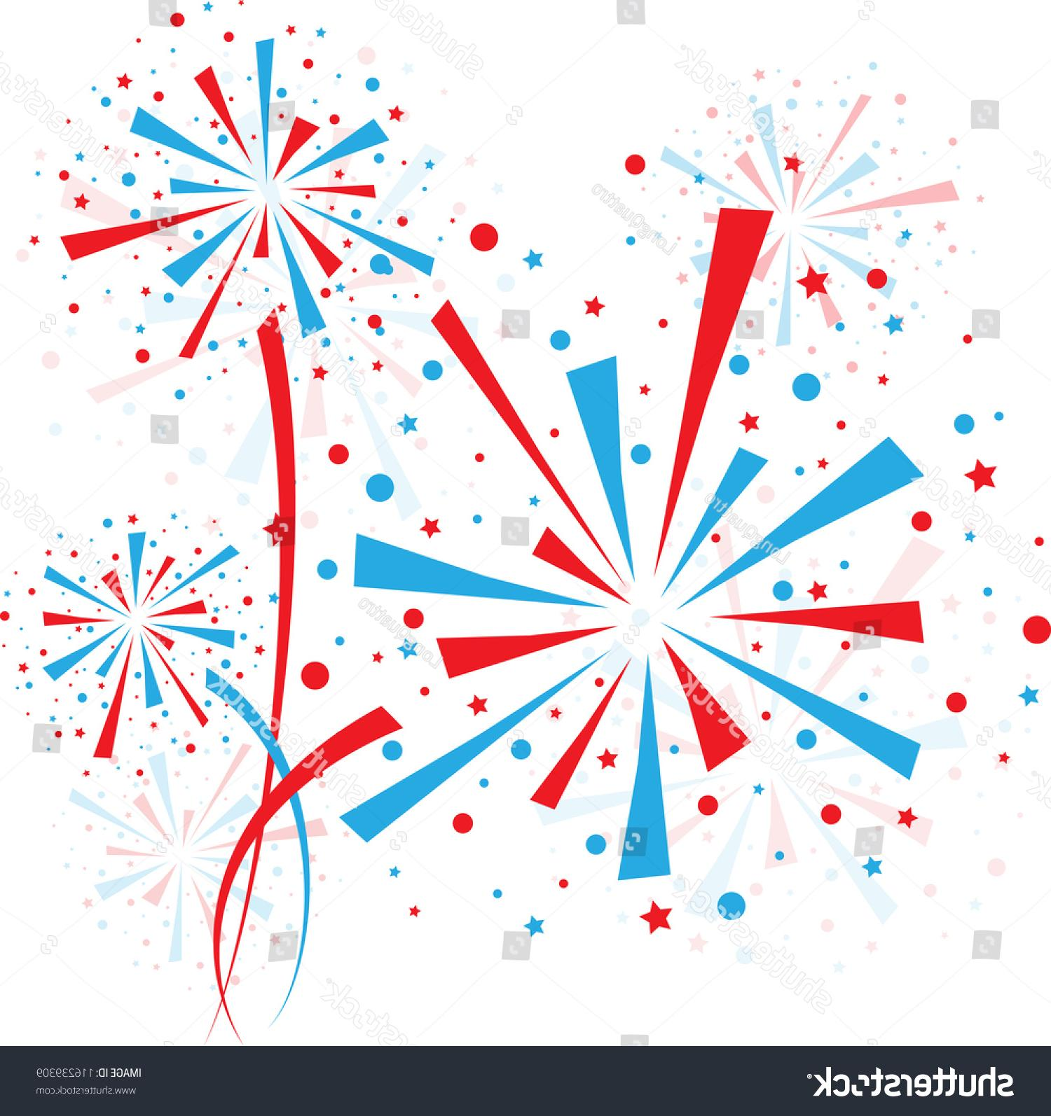 Red white and blue firework clipart graphic transparent library Unique Red White And Blue Vector Fireworks File Free » Free ... graphic transparent library
