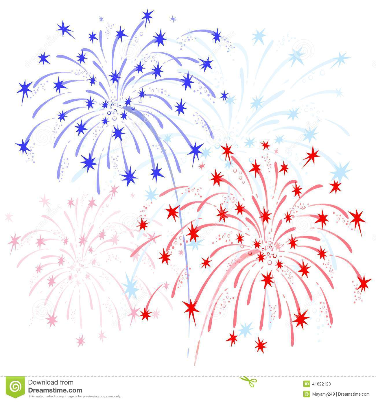 Red white and blue fireworks clipart picture royalty free download Red white and blue fireworks clipart 1 » Clipart Station picture royalty free download