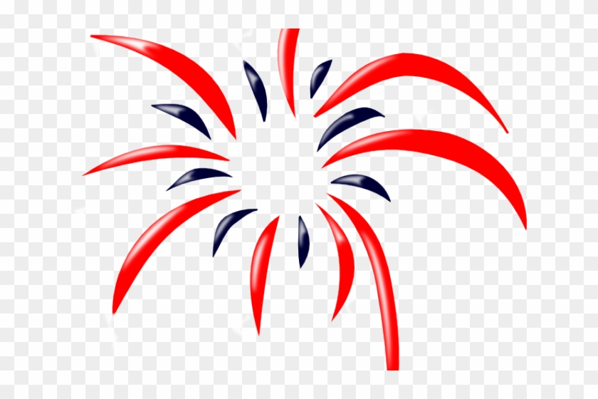 Red white and blue fireworks clipart svg free Firework Clipart Red White Blue, HD Png Download - 640x480 ... svg free