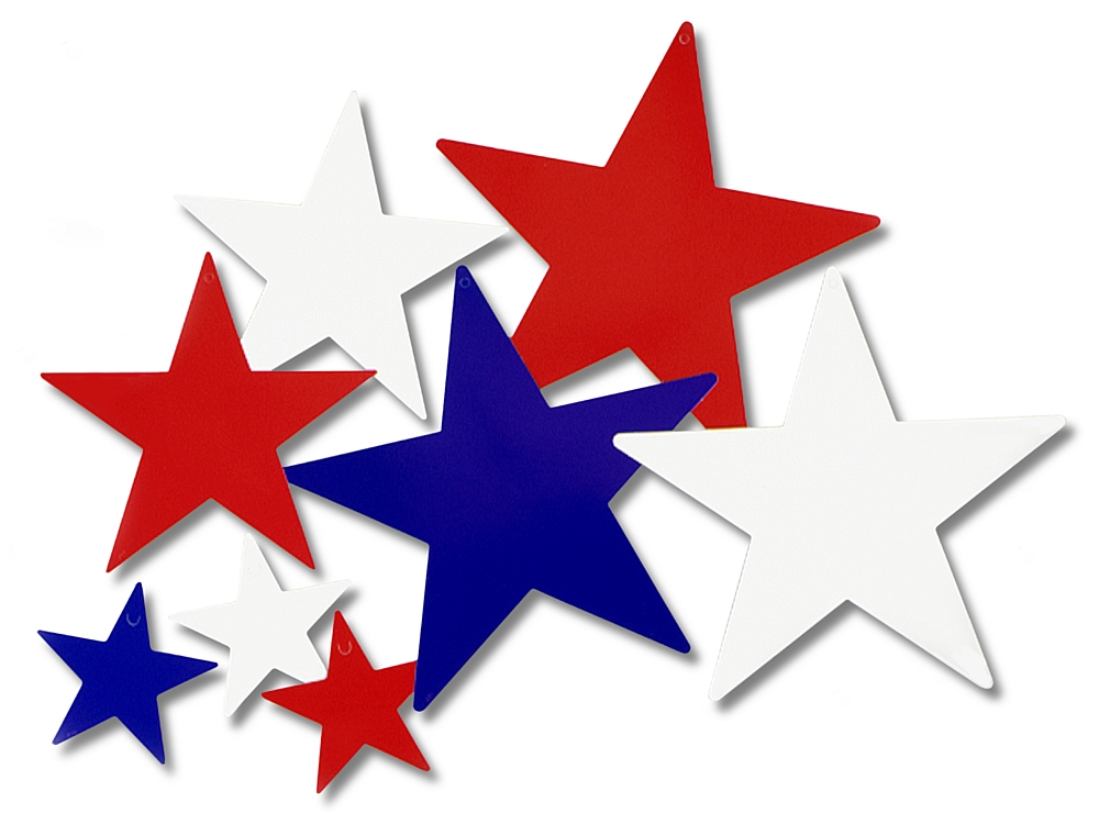 Red White And Blue Stars Clip Art N8 free image vector free download