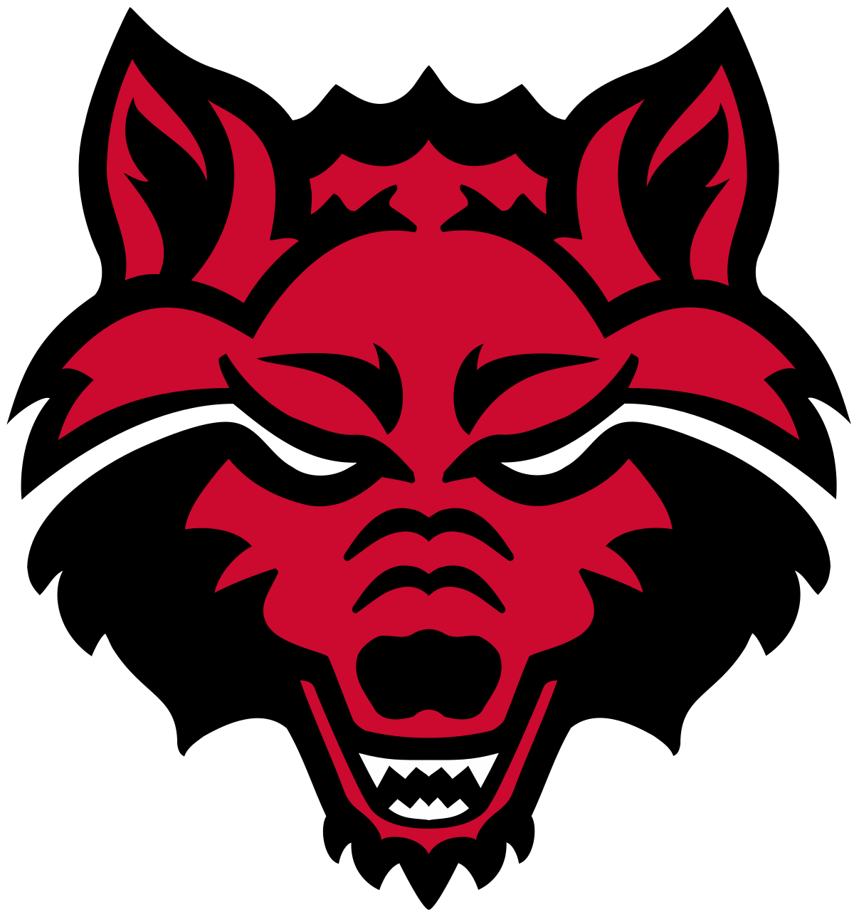Red wolf logo clipart images gallery for free download ... clipart freeuse stock