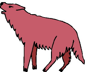 Free Red Wolf Cliparts, Download Free Clip Art, Free Clip ... image black and white library