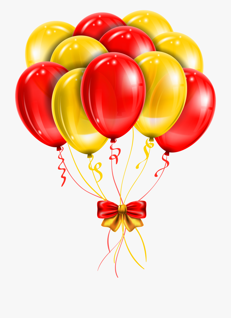 Red yellow clipart picture free download Transparent Red Yellow Balloons Png Picture Clipart - Red ... picture free download