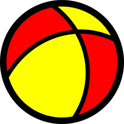 Red yellow clipart vector library download Free Yellow Ball Cliparts, Download Free Clip Art, Free Clip ... vector library download