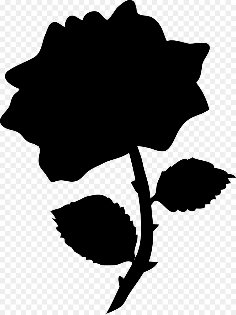 Redbubble enchanted rose cliparts png black and white stock Free Beauty And The Beast Silhouette Clip Art, Download Free ... png black and white stock