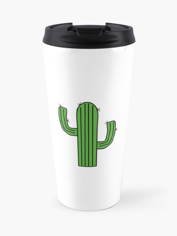 Redbubble travel cliparts image transparent library cute cactus clipart | Travel Mug image transparent library
