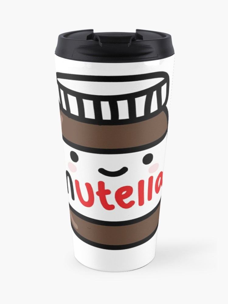 Redbubble travel cliparts banner royalty free Nutella Clipart | Travel Mug banner royalty free