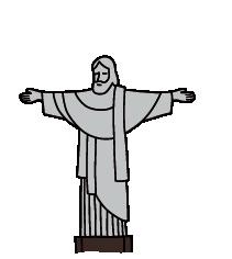 Landmarks - Christ the Redeemer | Clipart | PBS LearningMedia jpg royalty free library
