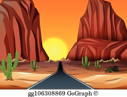 Red Rock Canyon Clip Art - Royalty Free - GoGraph clip art library download