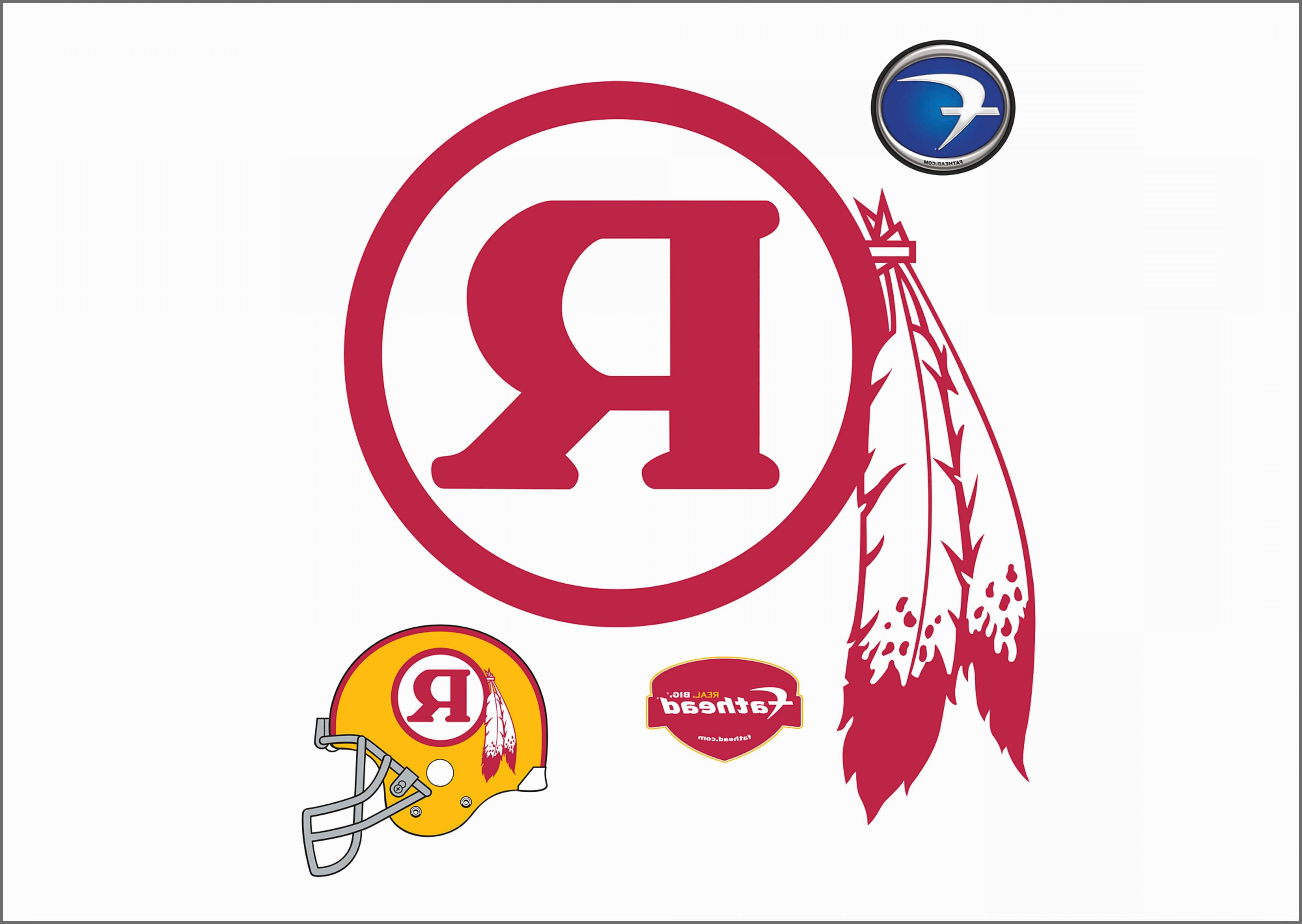 Redskins helmet clipart graphic black and white library Redskins R Logo Beautiful Redskins Football Clipart Amp ... graphic black and white library