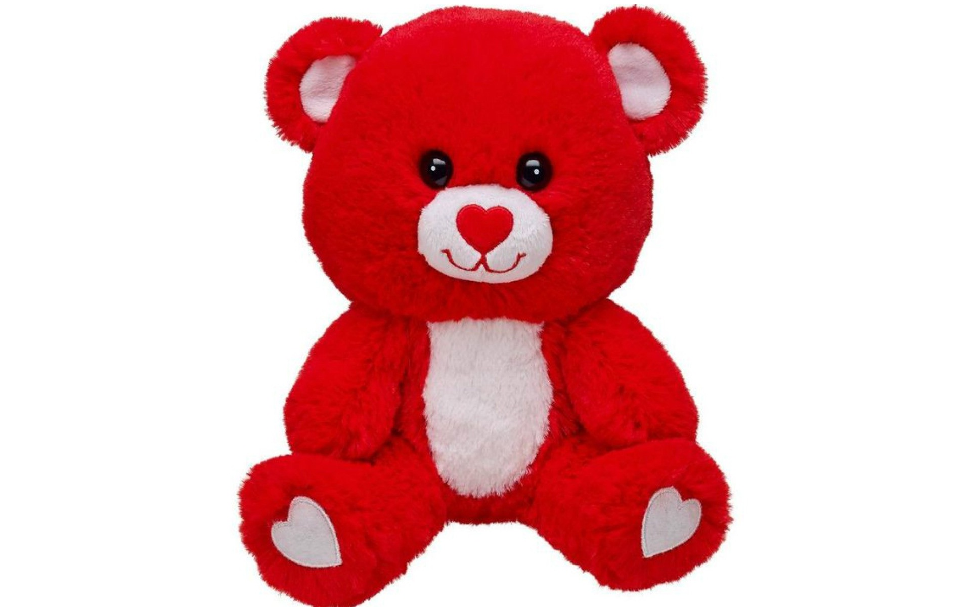 Download New Teddy Bear Wallpaper - Cute Red Teddy Bear On ... image library library