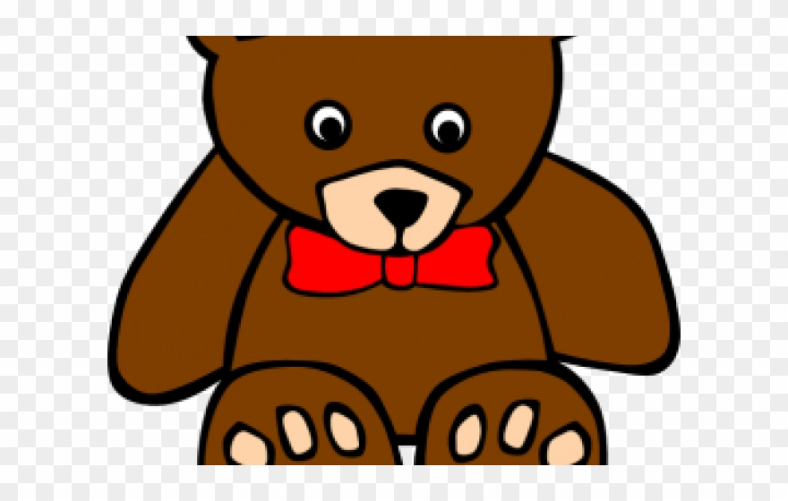 Brown Bear Clipart Border - Red Teddy Bear Clipart - Png ... clip library library