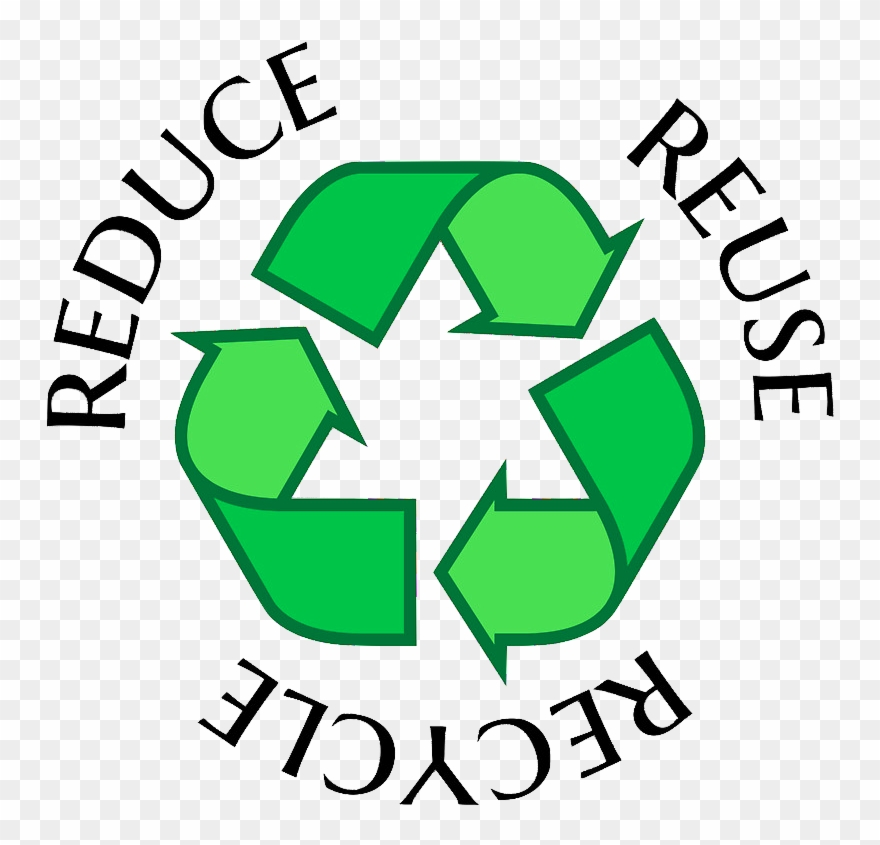 Reduce reuse recycle clipart png E-waste Singapore - Recycling Symbol Reduce Reuse Recycle ... png