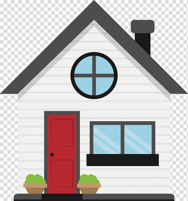 White, red, and black house illustration, Car Refinancing ... jpg royalty free