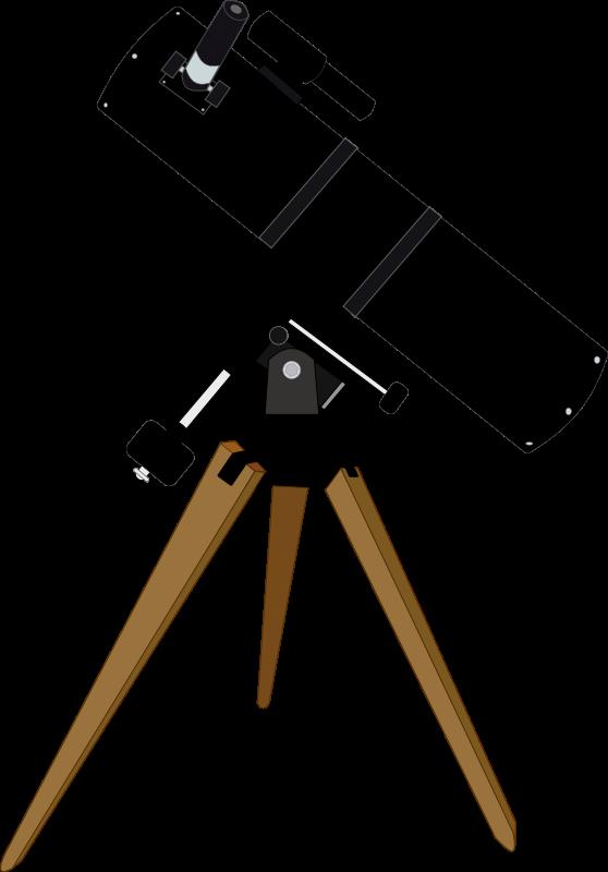 Free Clipart: Reflector telescope | J_Alves jpg