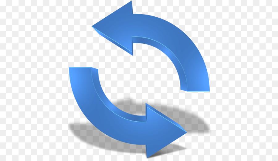 Refresh icon clipart transparent clip art transparent download Button Blue png download - 512*512 - Free Transparent Button ... clip art transparent download
