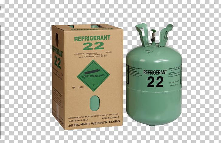 Chlorodifluoromethane Refrigerant R-410A Gas Air ... vector free