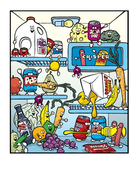 Refrigerator clean out clipart vector royalty free Dirty Refrigerator Clipart #279754 - Clipartimage.com vector royalty free