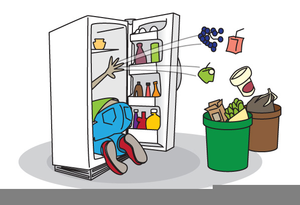 Refrigerator clipart free stock Smelly Refrigerator Clipart | Free Images at Clker.com ... stock