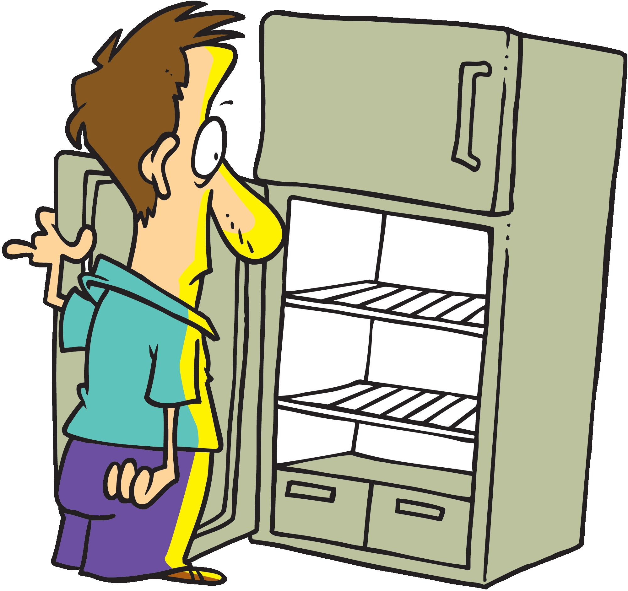 House inside clipart empty picture free library fridge Refrigerator open cliparts free download clip art jpg ... picture free library