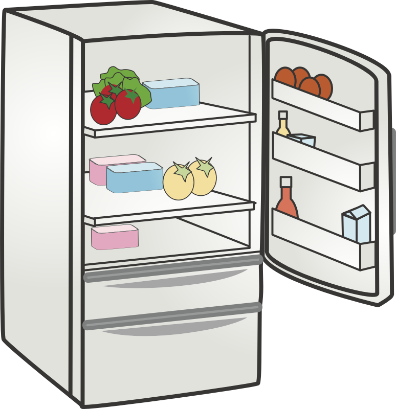 Refrigerator clipart images free library Kitchen Cartoon clipart - Refrigerator, Kitchen, transparent ... free library