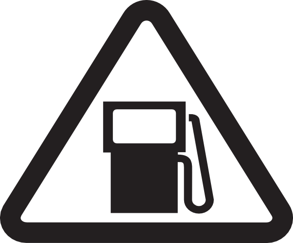 Refuel clipart black and white stock Do Not Use While Refueling Clip Art at Clker.com - vector ... black and white stock