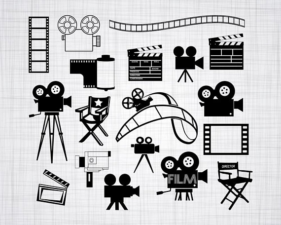 Film SVG Bundle, Film SVG, Film Clipart, Film Cut Files For ... image library library