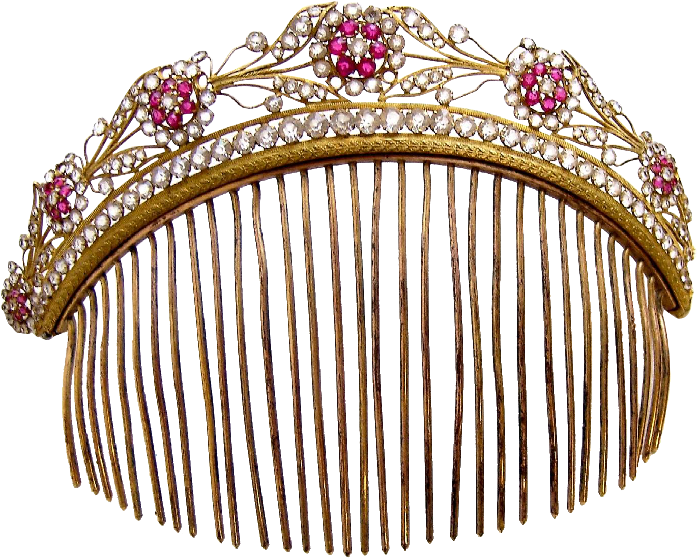 Regency Fire Gilded Tiara Clipart - Full Size Clipart ... graphic royalty free stock