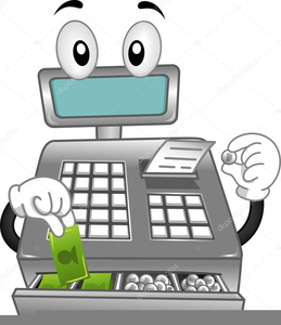 Register clipart png library library Cash Register Clipart | Free Images at Clker.com - vector ... png library library