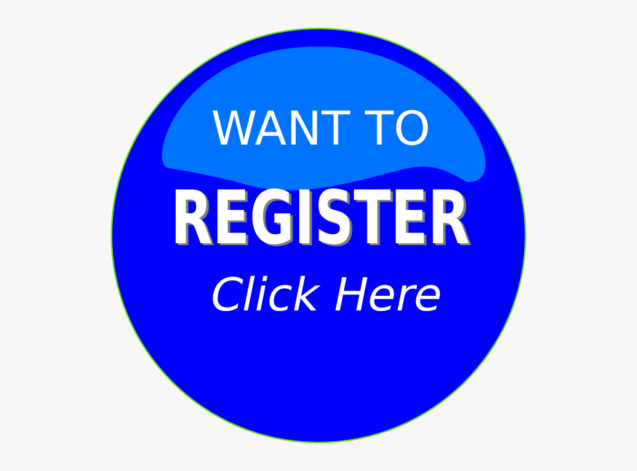 Register here clipart banner free library Register Button Clipart This Image As - Circle #118799 ... banner free library