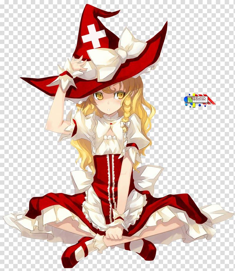 Mountain of Faith Marisa Kirisame Reimu Hakurei Anime Braid ... graphic free stock
