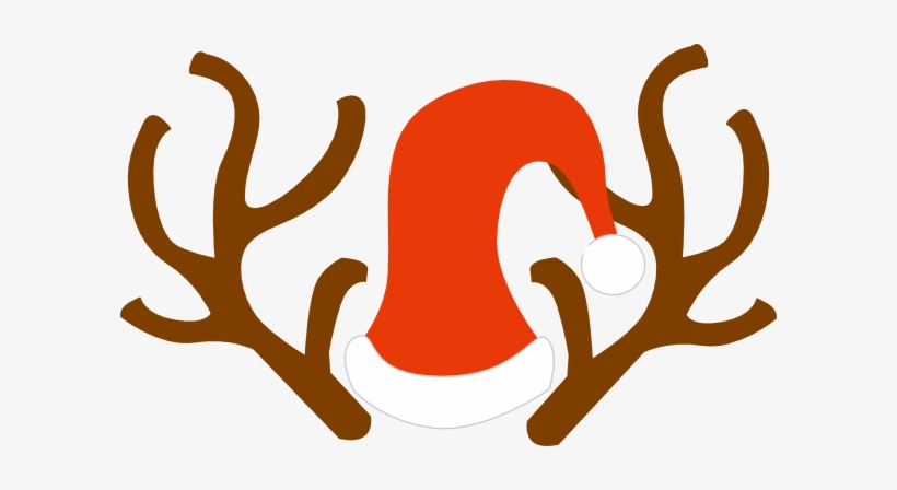 Reindeer antlers and ears clipart png royalty free Rudolph Ears Clip Art - Reindeer Antlers Svg Transparent PNG ... png royalty free