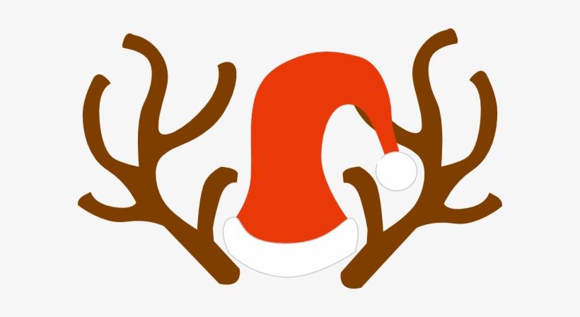 Rudolph Ears Clip Art - Reindeer Antlers Svg Transparent PNG ... png royalty free