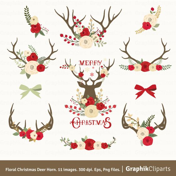 Free Antlers Christmas Cliparts, Download Free Clip Art ... clipart freeuse stock