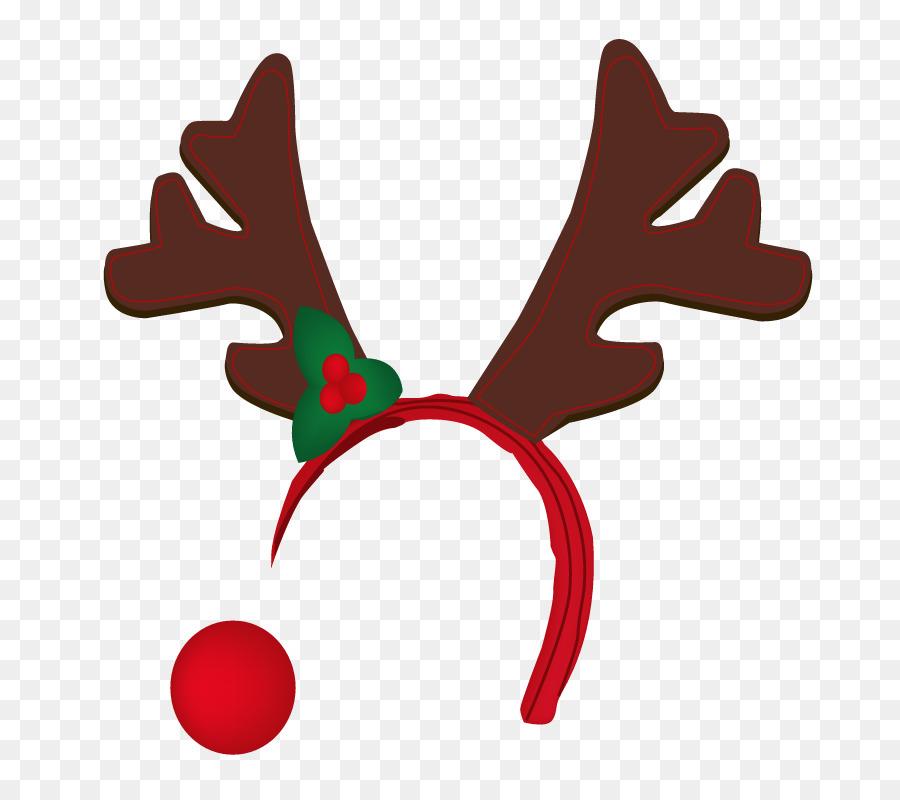 Reindeer antlers christmas clipart image royalty free library Rudolph Christmas clipart - Reindeer, Deer, Leaf ... image royalty free library