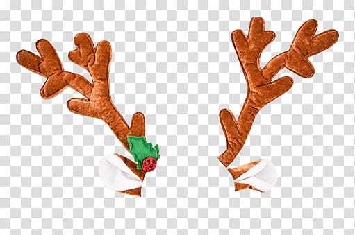 CHRISTMAS, brown reindeer antlers transparent background PNG ... graphic black and white