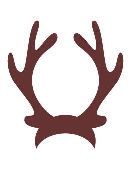 Reindeer antlers with lights clipart image free library Reindeer Antlers Clipart | Free download best Reindeer ... image free library