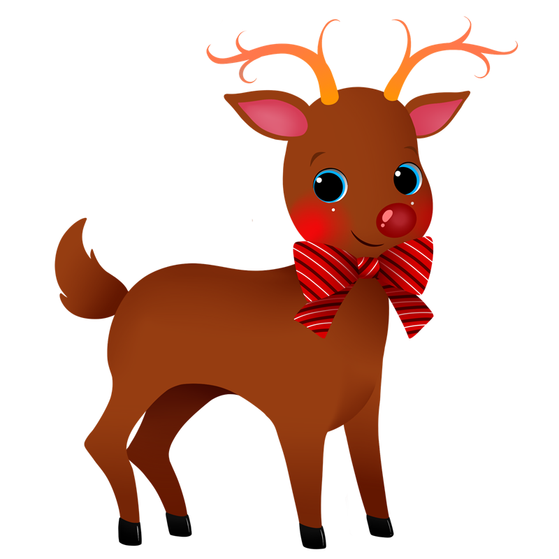 Reindeer clip art pictures vector free Free to Use & Public Domain Reindeer Clip Art vector free