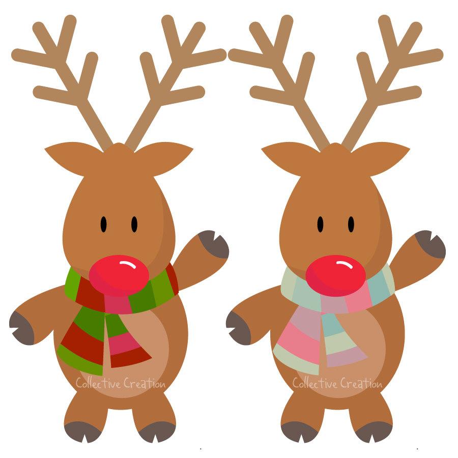 Reindeer clip art pictures clip art freeuse download Cute Baby Reindeer Clipart - Clipart Kid clip art freeuse download