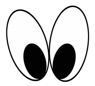 Eyes Mickey Mouse Eye Drawing Reindeer Anime Character ... svg free