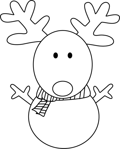 Reindeer face clipart black and white clipart transparent library snowman outline - Google Search | Crafts | Felt ornaments ... clipart transparent library