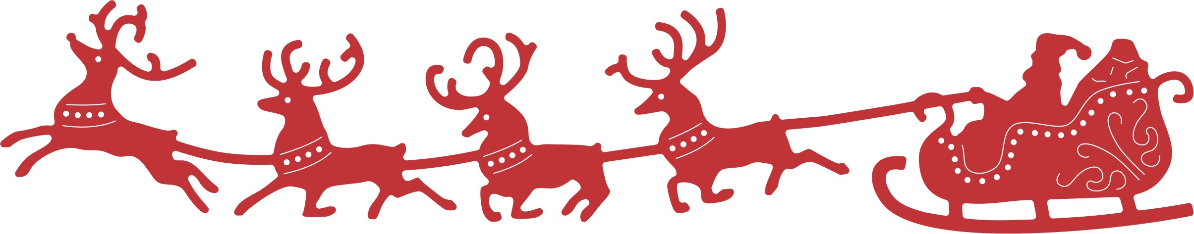 Christmas clipart santa sleigh library Free Sleigh Silhouette Cliparts, Download Free Clip Art ... library