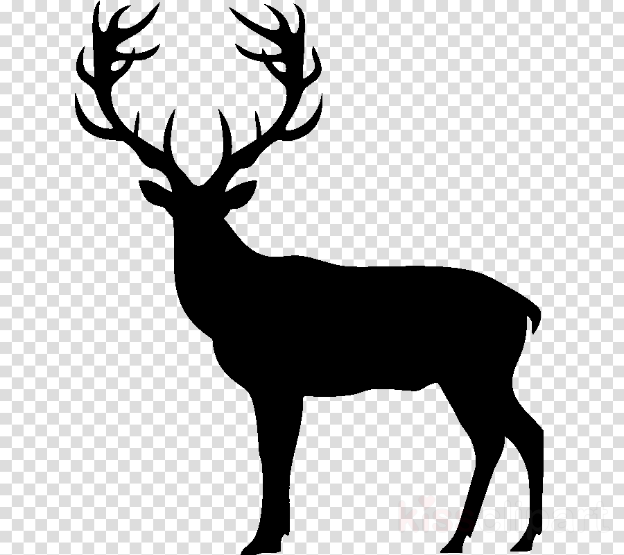 Reindeer silhouette clipart free banner free library Deer, Silhouette, Reindeer, transparent png image & clipart ... banner free library