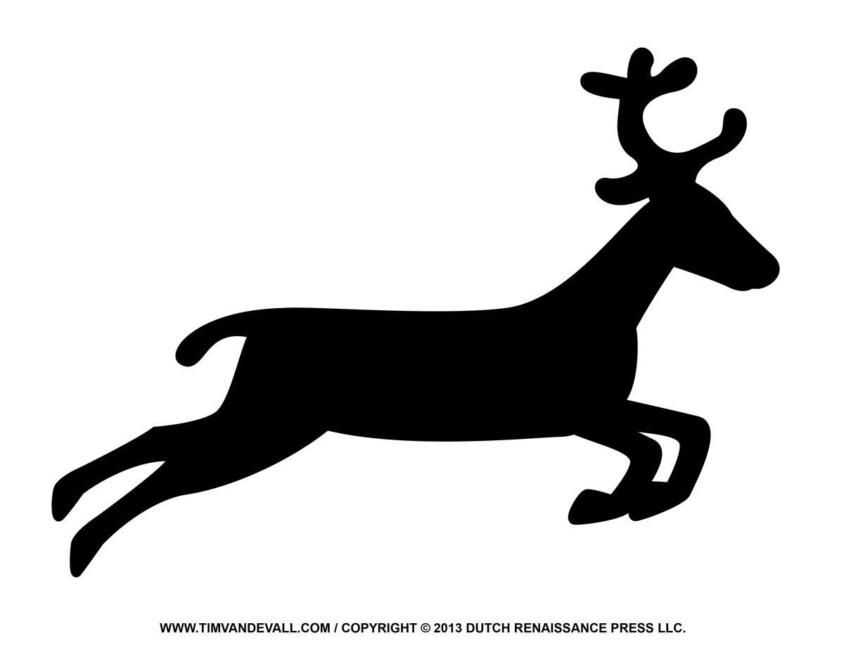 Reindeer silhouette clipart free clip art transparent library Free Reindeer Silhouette Cliparts, Download Free Clip Art ... clip art transparent library