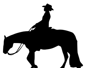 Reining horse silhouette clipart svg library Free Reining Horse Silhouette, Download Free Clip Art, Free ... svg library